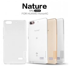HUAWEI honor 4c DĖKLAS NILLKIN NATURE 0.6MM TPU skaidrus