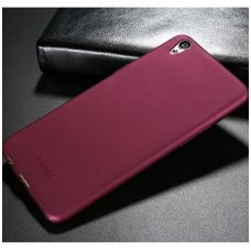 sony xperia xz3 dėklas X-LEVEL GUARDIAN silikonas bordo