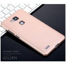 Huawei mate 20 x dėklas X-LEVEL GUARDIAN silikonas auksinis
