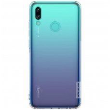 HUAWEI HONOR 10 LITE DĖKLAS NILLKIN NATURE 0.6MM TPU skaidrus