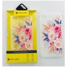 """Huawei p20 dėklas Vennus """"Flower 4"""" silkonas"""