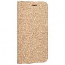 Huawei Mate 10 Lite atverčiamas dėklas Vennus Book PU oda auksinis