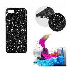 iphone x/xs dėklas nugarėlė splash tpu juodas-baltas