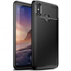 """Huawei P20 dėklas Ipaky """"New Carbon"""" TPU Juodas"""