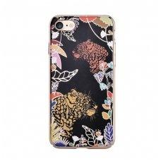 iphone 7 plus / 8 plus dėklas devia luxy leopard pc plastikas