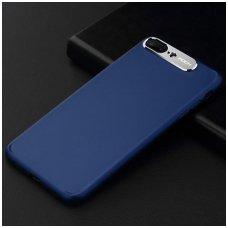 iphone 7 plus / 8 plus dėklas rock classy pc plastikas mėlynas
