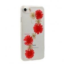 iphone 7 plus / 8 plus dėklas vennus real flower 3 silikonas