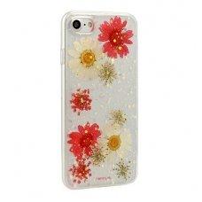 iphone 7 plus / 8 plus dėklas vennus real flower 5 silikonas