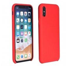 Huawei p20 DĖKLAS FORCELL SOFT CASE SILIKONAS raudonas