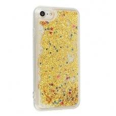iphone 7 plus / 8plus dėklas water silikonas auksinis