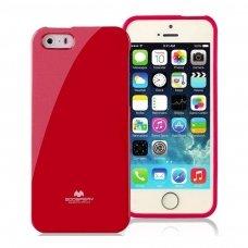 Akcija ! Raudonas dėklas iPhone 7 plus / 8 plus Mercury Goospery Jelly Case