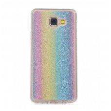 iphone x/xs dėklas Glitter Rainbow Silikoninis