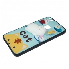 Samsung Galaxy s7 dėklas Kawaii 4D su minkštu žaisliuku kate meška Silikoninis