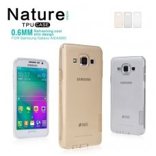SAMSUNG GALAXY note 4 edge DĖKLAS NILLKIN NATURE 0.6MM TPU SKAIDRUS