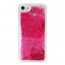 """Samsung Galaxy s8 plus DĖKLAS """"Water Glitter"""" TPU rožinis"""