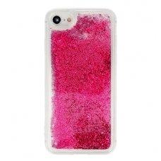 "Samsung Galaxy A7 2018 DĖKLAS ""Water Glitter"" TPU rožinis"