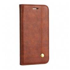 iphone xr atverčiamas dėklas prestige book oda rudas