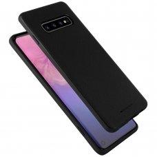 """Akcija! Samsung galaxy s10e dėklas Mercury Goospery """"Style Lux"""" TPU juodas"""
