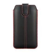 Iphone 6 plus / 6S plus dėklas įmautė forcell ultra slim m4 eko oda juodas