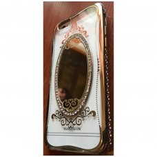iphone 5/ 5S / SE dėklas 3d mirror diamond silikonas rose gold