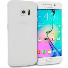 Samsung galaxy S6 dėklas MERCURY Silikoninis Baltas