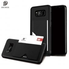 Samsung galaxy s8 dėklas DUX DUCIS PoCard juodas TPU