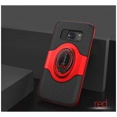 Samsung galaxy s8 dėklas Ipaky feather TPU + PC PLASTIKAS raudonas