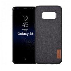 Samsung Galaxy S8 plus dėklas Devia Flax EKO ODA + PC juodas