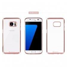 Samsung galaxy s5 dėklas MERCURY JELLY RING 2 silikonas ROŽINIAIS KRAŠTAIS