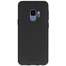 """Samsung galaxy s10e dėklas Mercury Goospery """"Style Lux"""" TPU juodos spalvos"""
