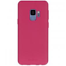 "Samsung galaxy a8 2018 dėklas Mercury Goospery ""Style Lux"" TPU koralo spalvos"