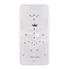 Samsung galaxy s7 dėklas VENNUS 3D Diamond silikoninis permatomas