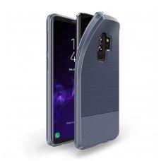 Samsung Galaxy S9 plus dėklas Dux Ducis MOJO silikonas mėlynas