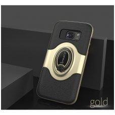 Samsung galaxy s8 dėklas Ipaky feather TPU + PC PLASTIKAS aukso spalvos