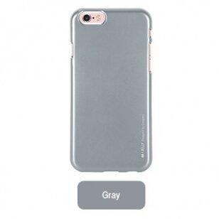 Hülle für iphone 6 / 6s Mercury Jelly Case grau