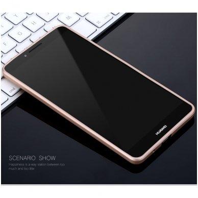 Huawei mate 20 x dėklas X-LEVEL GUARDIAN silikonas auksinis 2