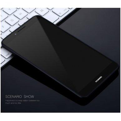 Huawei mate 20 x dėklas X-LEVEL GUARDIAN silikonas juodas 2