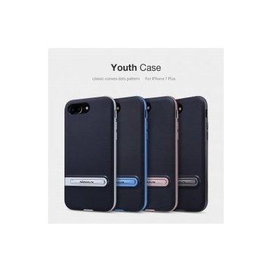 Iphone 7 Plus / 8 plus dėklas nillkin Youth juodas - rožinis 5