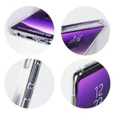 Huawei mate 20 lite dėklas jelly roar all day silikonas skaidrus 3