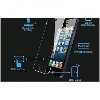 huawei p8 lite smart ekrano apsauga iki išlenkimo Temperad glass Premium 3