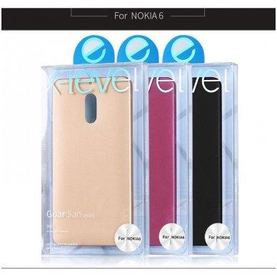 Nokia 6.1 2018 dėklas X-LEVEL GUARDIAN silikonas bordo 4