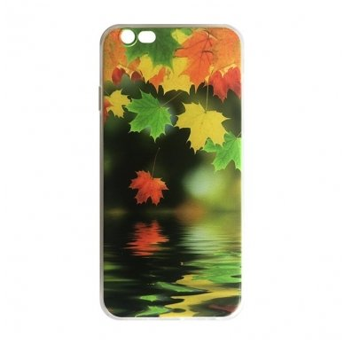 iphone 5/ 5S / SE DĖKLAS nugarėlė maple ART silikonas