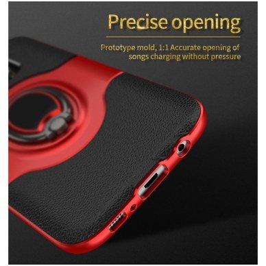 Samsung galaxy s8 plus dėklas Ipaky feather TPU + PC PLASTIKAS raudonas 4