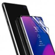 Akcija! Samsung Galaxy S10 Baseus 2x 0,15 mm full screen 3D apsauginė plėvelė juodais kraštais