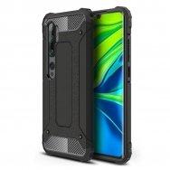 Akcija! xiaomi redmi Mi Note 10 / Mi Note 10 Pro dėklas Hybrid Armor  TPU+PC plastikas juodas