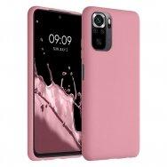 "Akcija! Xiaomi Redmi Note 10 Pro ""Silicone case"" silikonas rožinis"