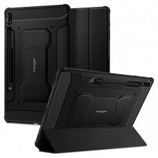 Akcija! Samsung Galaxy Tab S7 11.0 T870 / T875 Spigen Rugged Armor PRO Juodas