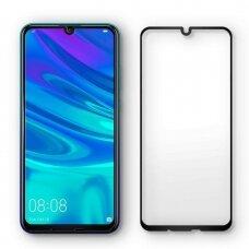 Akcija! Huawei P Smart 2019 Spigen stiklas juodais kraštais