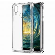 Akcija! Huawei P smart 2019 Anti Shock skaidrus, sutvirtintais kampais 0,5 mm