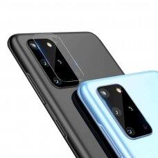 Akcija! Samsung Galaxy S20 PLUS kameros apsauga 4 vnt. 3MK lens protection